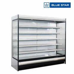 Blue Star 365 Kgs Koral Open Chiller Without Glass Door KORAL24CFV/DL/MTR