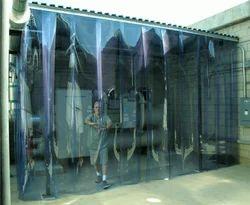 Dream Care Pvc Strip Transparent Curtain, For Home,Hospital etc