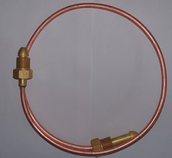 Brass Copper Argon Tailpipe, For Gas Cylinder, Size: 1 Meter Long