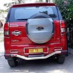 Silver Stainless Steel Rear Guard