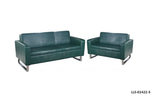 Stainless Steel 2 Seater Reception Sofa