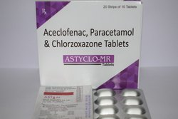 Aceclofenac Paracetamol & Chlorzoxazone
