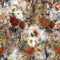 Cotton Fabric Elegant Digital Printed Fabric