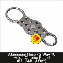 Lockout Aluminum Hasp - 2 Way