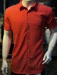 E Sprite Male Printed Mens Shirts