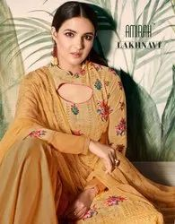 Georgette Wedding Wear Designer Salwar Suit