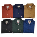 Mens Plain Cotton Sateen Shirt