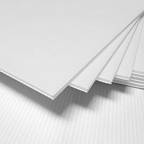white corrugated plastic sheet at rs 35 square feet shastri nagar delhi id 15179218330. Black Bedroom Furniture Sets. Home Design Ideas