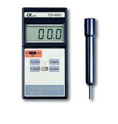 Lutron - Conductivity Meter 2 Ms/20 Ms/200 Ms - Model No-Cd-4301