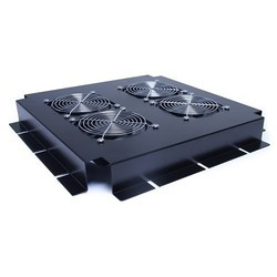 Prudentdevices Mild Steel with Powder Coated Fan Housing Unit with 4 Fans, 540 x 520 x 65 mm