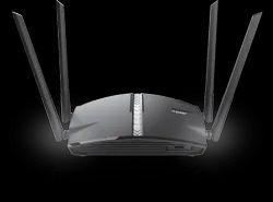 Black Wireless or Wi-Fi D Link Dir 1360 Smart Wi Fi Router