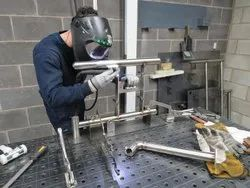 SS Welding Fabrication Service, For Industrial