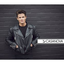Black Casanova Full Sleeve Mens Leather Jacket, Size: S-XXL