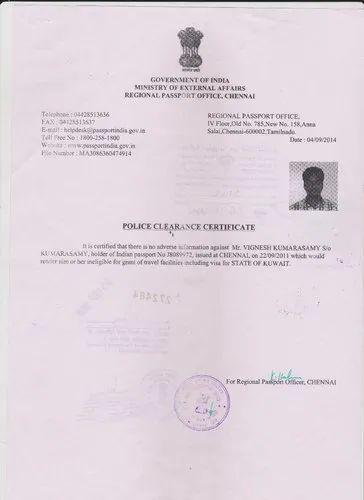 Document Apostille Services - PCC Certificate Attestation