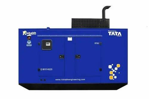 Silent Diesel Generator 83 kVA