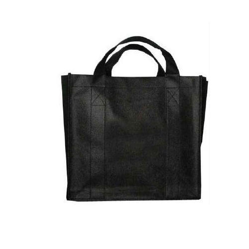 dbe020af59f5 Black Non Woven Bag