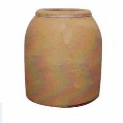 Nand Equipment Clay Tandoor Drum, Capacity: 150 L