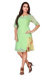 Chinon Chiffon Short Summer Dress