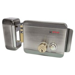 Electronic Door Rim Lock for House Main Metal Door Gate, Model Name/Number: CP-DRL-11SSL