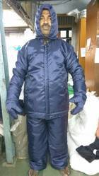 Polyester Small, Medium, Large Cold Storage Suit, Model Name/Number: Modern Apparels, For Low Temperature