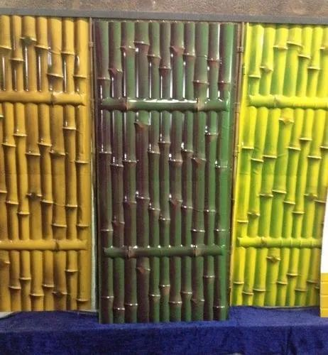 Chennai Steel Color Coated Bamboo Roofing Sheets For Packaging Thickness 6 Mm Rs 40 Square Feet Id 22089898888