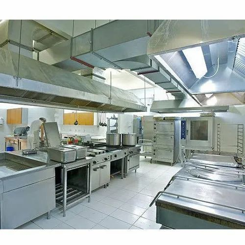 Stainless Steel Commercial Kitchen Exhaust System