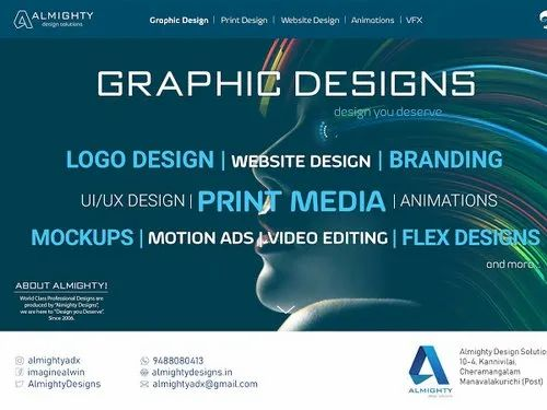 Graphic Design Print Designs From Nagercoil