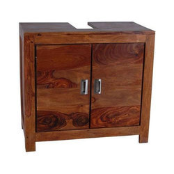 Brown The Home Dekor Wooden Cabinet