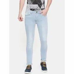 Men Slim Fit Denim Jeans