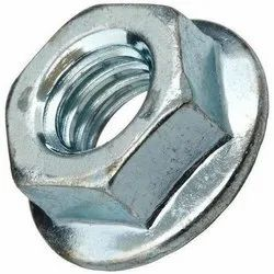 MS Hex Flange Nut