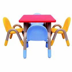 Plastic Square Table (VJ-313)
