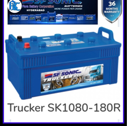 180 R Sf Sonic Truck Battery