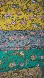 Multi Color Cotton Printed Fabric