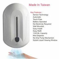 contactless hand sanitizer dispenser