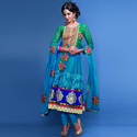 Multicolor Stitched Ladies Fashionable Suit