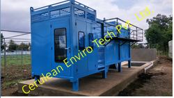 MBBR Sewage Treatment Plant, Automation Grade: Automatic