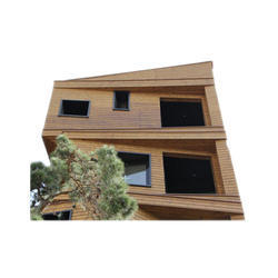 Cork Panel Wood Exterior Thermo Pine Paneling, Thickness: 18mm-28mm