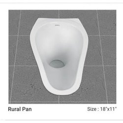 Sonferry White 20 Inch Rural Toilet Pan