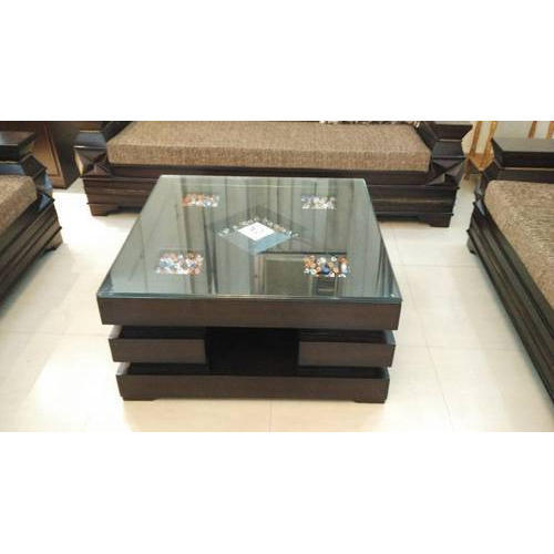 Rectangular Wooden Brown Center Table Rs 8000 Piece M A Furniture Id 19312477912