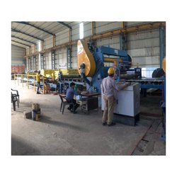 Mild Steel MS Cut To Length Line Machine, Automation Grade: Automatic
