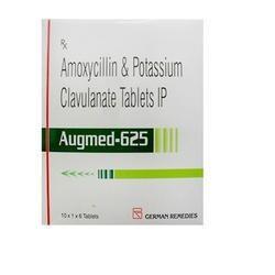 Amoxicillin Potassium and Clavulanate Tablets