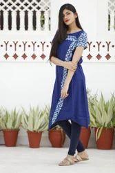 Reyon printed casual kurti