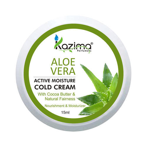 KAZIMA Aloe Vera Cold Cream, Creamy / Moisturizing Cold Cream, For Face & Skin Body Moisturiser Nourishing