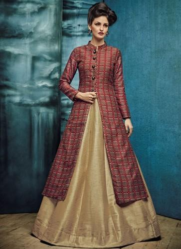 24503172a9e948 ... Work Source · Readmade Indo Western Style Lehenga Choli at Rs 1500 piece