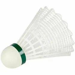 Wooden Base Plastic Badminton Shuttlecock