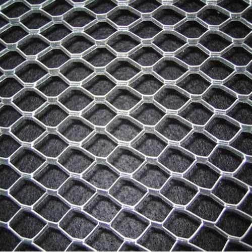Stainless Steel Mill Finish Diamond Floor Mesh