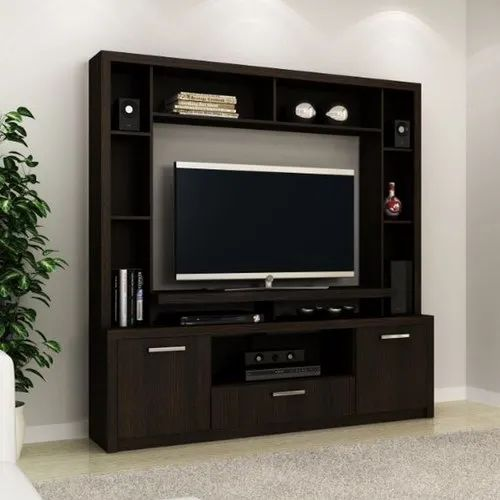 Wooden Living Room Tv Unit For Residential Rs 6500 Unit Vaibhav Furniture Id 21617719888