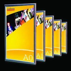Aluminum LED Backlit Frame