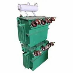 Single Phase Oil Cooled 25 KVA Electrical Power Transformer, For Industrial, Input Voltage: 11 Kv