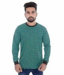 Men's Lining Round Neck T-Shirt